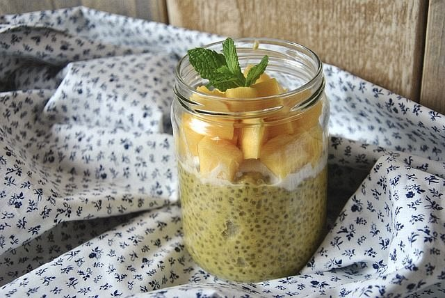 Coconut Chia Smoothie. Smoothie For Energy. How To Make Smoothies An Important Part Of Your Good Diet. #greensmoothiechallenge