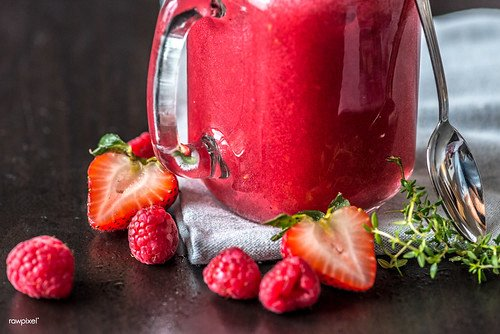 Simply Delicious Strawberry Protein Smoothie